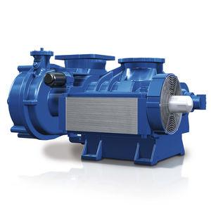 compresseur à vis / d'air / de gaz / stationnaire