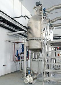 marmite industrielle à vapeur