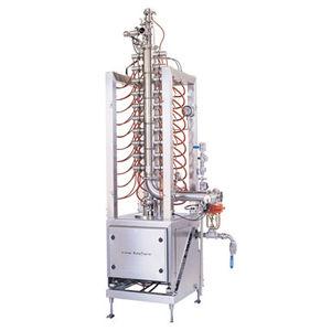cuiseur industriel de fromage / de pâtes / à injection de vapeur / continu