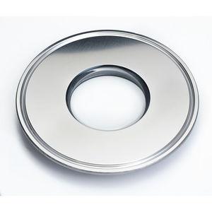 hublot d'observation en verre fondu / pour applications sanitaires / pour l'industrie pharmaceutique / pour produits chimiques