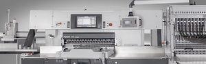 massicot programmable / à affichage digital / à grande vitesse / de précision