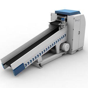 broyeur pour le recyclage / guillotine / horizontal / pour bouteilles en PET