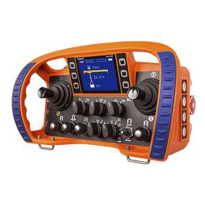 radiocommande / à joystick / avec écran intégré / pour constructions