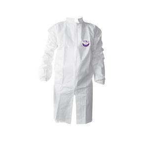blouse blanche / de travail / de protection chimique / antistatique