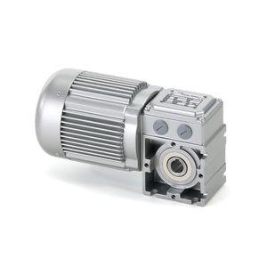 motoréducteur à vis sans fin / AC / triphasé / orthogonal