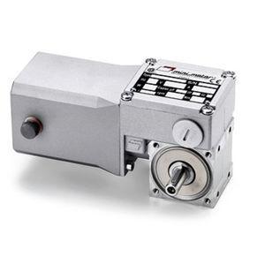 motoréducteur à vis sans fin / DC / orthogonal / 10 W...50 W