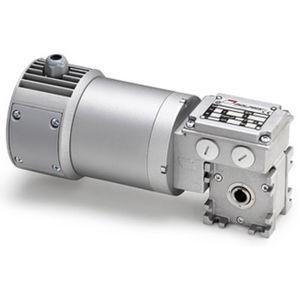 motoréducteur à vis sans fin / DC / planétaire / orthogonal