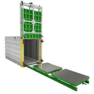 autoclave de process / à chargement frontal / automatique / sous vide