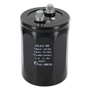 condensateur électrolytique / cylindrique / à visser / haute puissance