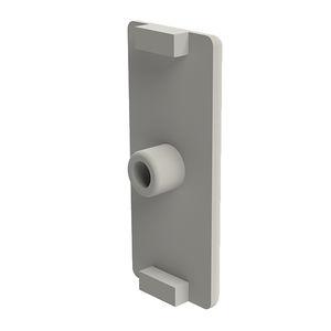embout recouvrant pour profilés / press-fit / rectangulaire / en polyamide