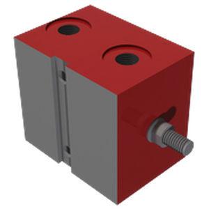 vérin de bloc / hydraulique / à double effet / à piston