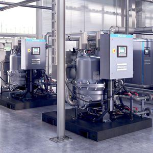 sécheur à tambour rotatif / continu / pour l'industrie agroalimentaire / d'air