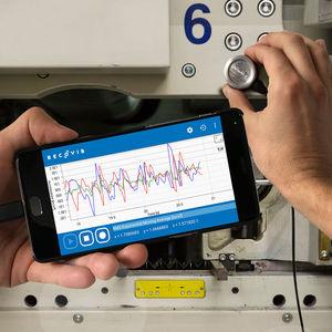 capteur de vibrations MEMS / magnétique / électronique / accélérometre micromécanique