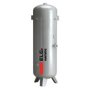 réservoir de stockage / pour air comprimé / en métal / vertical