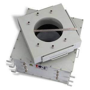 collecteur tournant à colonne / pour enrouleur de câble / pour applications marines / pour applications offshore