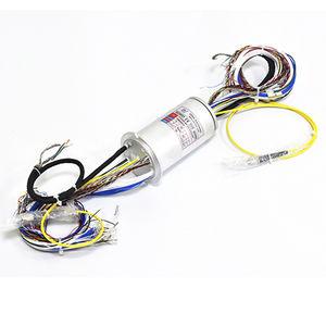 collecteur tournant Gigabit Ethernet / pour table rotative / pour antenne radar / pour applications marines