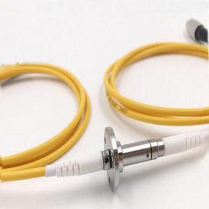 joint rotatif pour fibre optique hybride / pour applications aéronautiques / pour table rotative / à haute vitesse