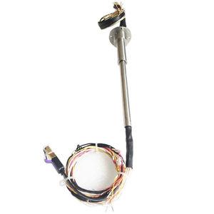 collecteur tournant pour table rotative / électro-optique / via Ethernet / de fibre optique