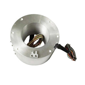 collecteur tournant à axe creux / pour la robotique / pour table rotative / pour emballage