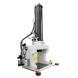 presse hydropneumatique / d'estampage / pour assemblage / de gaufrage