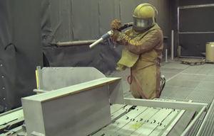 métallisation de l'acier