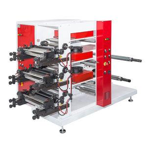 presse flexographique à 3 couleurs / pour papier / pour film en plastique / pour cartons