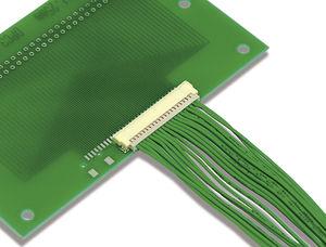 connecteur carte à fil / fil à carte / parallèle / à sertir