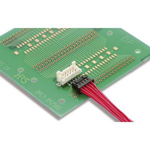 connecteur carte à fil / DIN / parallèle / à sertir