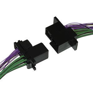 connecteur fil à carte / de fond de panier / rectangulaire / autodénudant