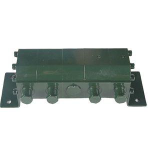 répartiteur de débit à engrenage / multivoie / hydraulique