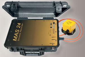 enregistreur sans papier / sismique / pour l'industrie / portable