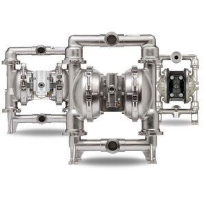 pompe à double membrane / pour produits alimentaires / pneumatique / industrielle