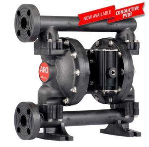 pompe à double membrane / pour eaux usées / pour produits chimiques / actionnée par air