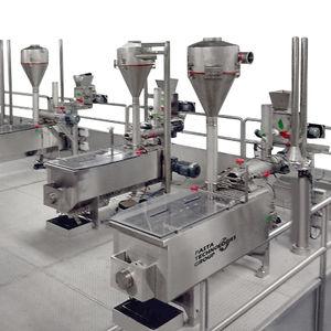 mélangeur de pâte industriel continu