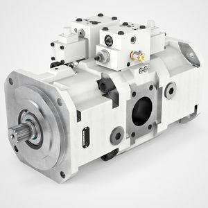 pompe hydraulique à piston axial / haute pression / à cylindrée variable / à faible niveau de bruit