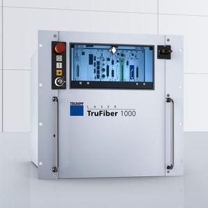 laser à fibre / pulsé / de précision / monomode