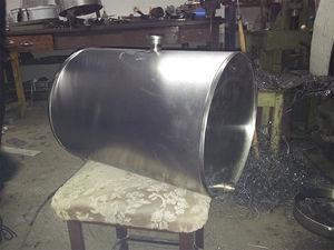 baril en acier inoxydable