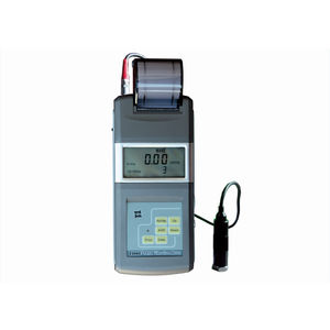vibromètre de surveillance de machine / portable / avec imprimante / numérique