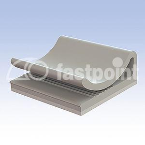clip de câbles / en PA / en polyéthylène / en PVC