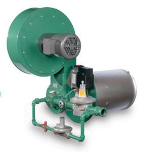 brûleur à gaz naturel / à mélange au nez / modulaire / bas NOx