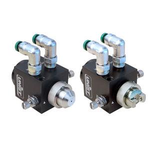 buse pour faible volume / de pulvérisation / pour liquides / modulaire
