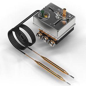 thermostat électromécanique / capillaire / chauffant