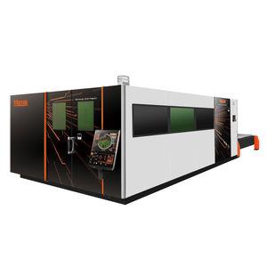 machine de découpe pour l'aluminium / pour acier inoxydable / laser à fibre / CNC