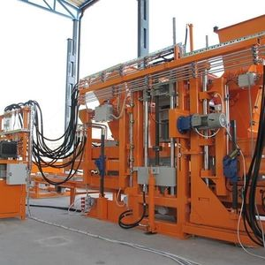 machine de fabrication de blocs stationnaire