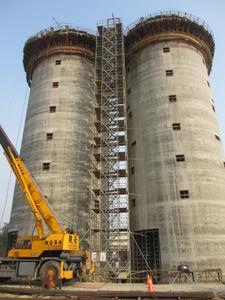 tour d'échafaudage fixe / modulaire / pour montage en escalier / de façade