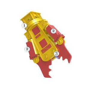 pince hydraulique de démolition pour démolition primaire