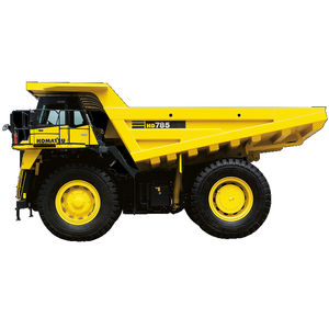 tombereau rigide / diesel / pour mines et carrières