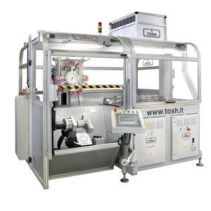 machine d'impression multicolore / pour matières plastiques / pour objets cylindriques / automatique