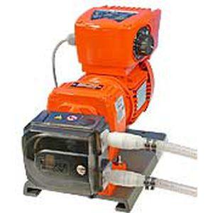 pompe à eau / avec moteur électrique / péristaltique / industrielle