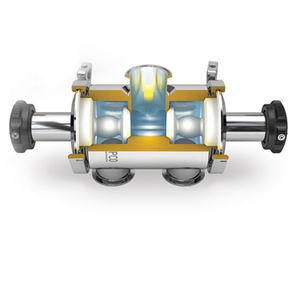 vanne à membrane radiale / d'aiguillage / à siège / hygiénique